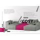 Atla 2,5 Sofa with sleep function