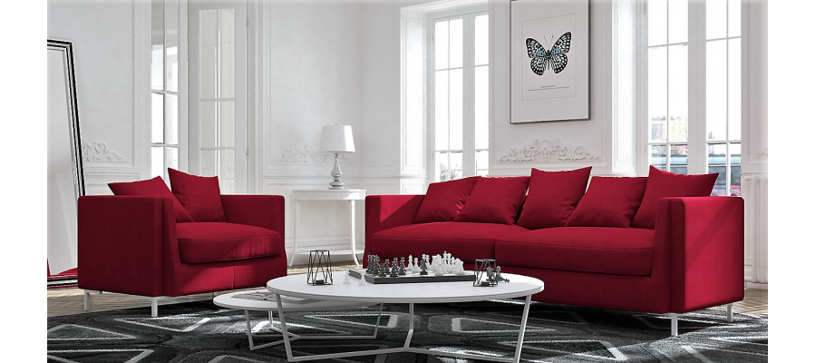 Florence double sofa
